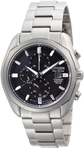 Citizen Men's CA0020-56E Eco-Drive Titanium Watch (Watch 56e)