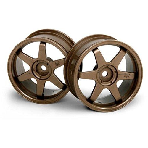 HPI Racing 3843 TE37 26mm Bronze Wheel with 3mm Offset (Set of 2)