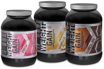 WEIGHT GAIN (Carbohidratos) proteinas 20%: Amazon.es: Salud y ...
