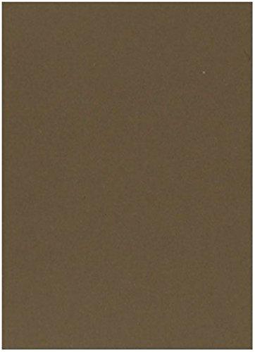 Stock Hazelnut (Crush Hazelnut - 8.5X11 (Letter) Card Stock Paper - 92lb Cover - 25 sheets per pack)