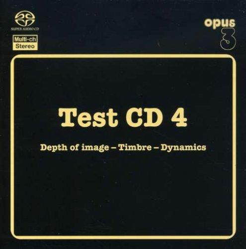 SACD : VARIOUS ARTISTS - Test Cd 4: Acoustic Music /  Various (Hybrid SACD)
