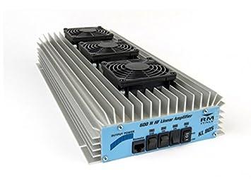 RM ITALY KL 805 KL805 AMPLIFIER LINEAR BURNER HF / CB / 10M 24V 600W