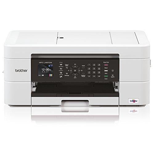 Brother MFC MFC-J497DW Inkjet Multifunction Printer – Color – Plain Paper Print – Desktop – Copier/Fax/Printer/Scanner – 6000 x 1200 dpi Print – Automatic Duplex Print – 1 x Input Tray 100 Sheet, 1 x