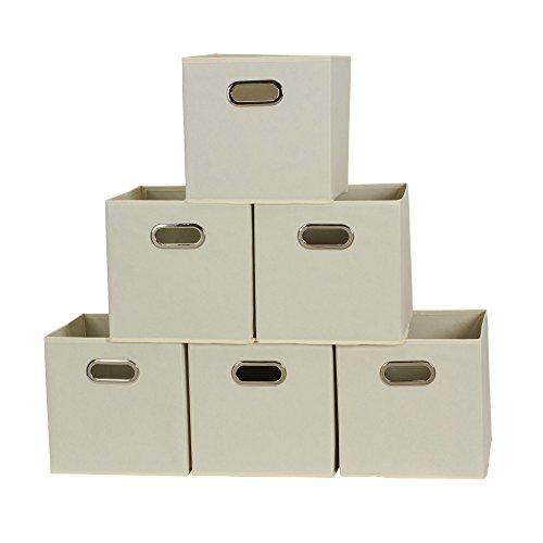 Household Essentials 82-1 Foldable Fabric Storage Bins | ...