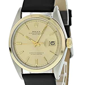 Rolex Datejust Automatic-self-Wind Male Watch 1600 (Certified Pre-Owned)