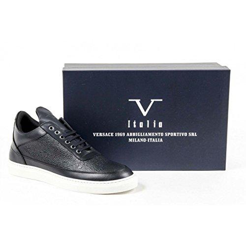 Versace - Zapatillas para hombre azul azul marino