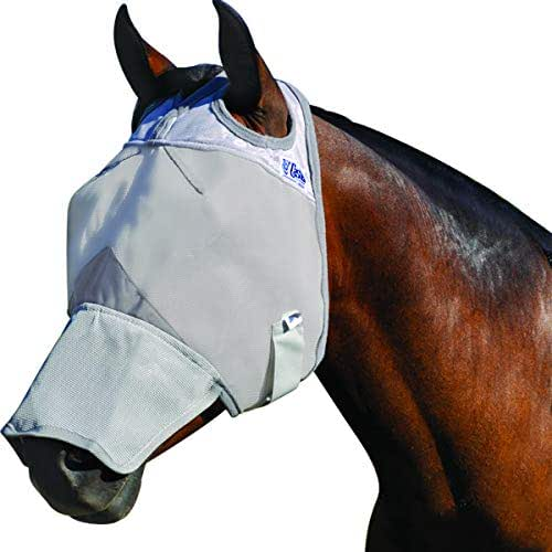 Cashel Crusader Horse Fly Mask, Long Nose