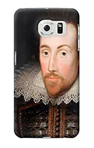 E0596 William Shakespeare Funda Carcasa Case para Samsung Galaxy S6 Edge
