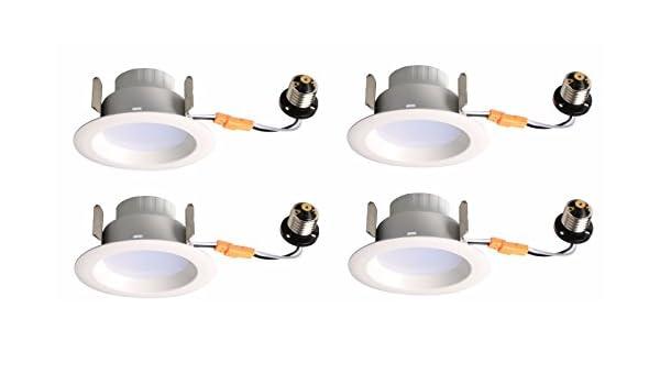 5 Years Warranty 5000K ES DIMMABLE 100/° 50000HRS UL Elitco Lighting R40950KRF-4PK led-Household-Light-Bulbs 4 RETROFIT LM540 9W Input Voltage 120V 4 Pack CRI90 60W Equivalent