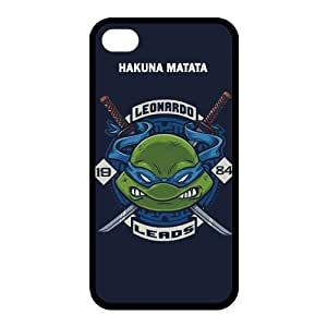 Designyourown HAKUNA MATATA JUST DO IT TMNT THE LORD OF RINGS Case For iPhone 4 4s TPU Case Cover the Back and Corners ,Fast Delivery SKUiPhone4-5378