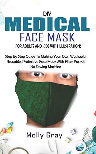 DIY MEDICAL FACE MASK FOR ADULTS AND KIDS WITH