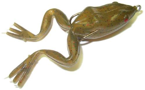 Snag Proof 6021 Original Frog, 1/4 ounce (Green Pumpkin, (1/4 Oz Proof)