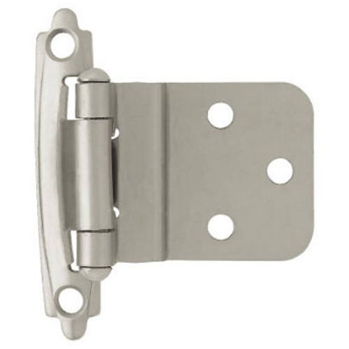 Liberty H0104AL-SN-U1 3/8-Inch Self-Closing Inset Hinge, by Liberty by Liberty