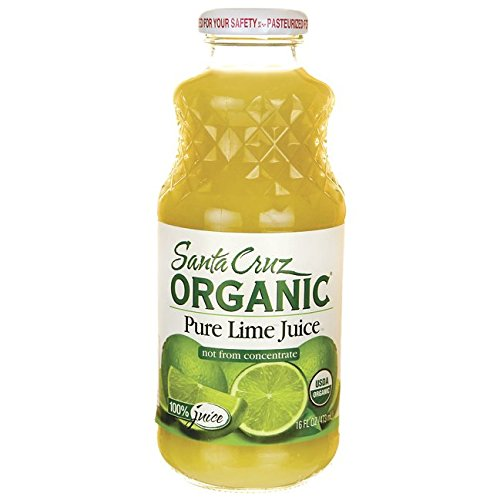 Santa Cruz Organic 100% Lime Juice, 16 Ounces (Lime Juice)