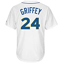 Ken Griffey Jr. Seattle Mariners Home Cool Base Cooperstown Jersey