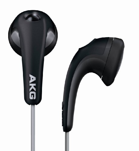 AKG K 315 In-Ear Bud Headphone - Pebble Black (Discontinued by Manufacturer)