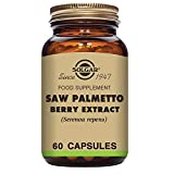 Solgar Standardized Full Potency Saw Palmetto Berry Extract Vegetable Capsules, 60 Count Review