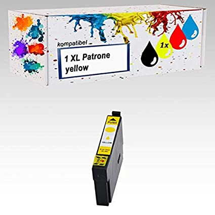 1 x Impresora tinta Yellow compatible para Epson PK 29 XL ...