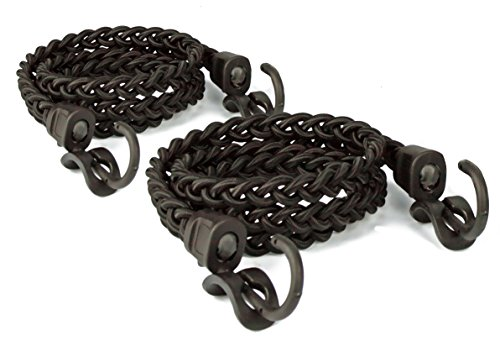 Tribe One Jungle Cord Braided Shock Cord Bungee with Packtach Fasteners