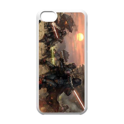 Star Wars The Old Republic 13 coque iPhone 5c cellulaire cas coque de téléphone cas blanche couverture de téléphone portable EEECBCAAN00476