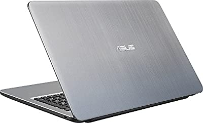 ASUS VivoBook X540SA 15.6-Inch High Performance Premium HD Laptop (Intel Quad Core Pentium N3710 Processor up to 2.56 GHz, 4 GB RAM, 1 TB HDD, Windows 10), Integrated WebCam, Bluetooth 4.0, Silver