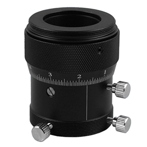 Astromania 1.25'' High Precision Double Helical Focuser with 0.1mm scale for Telescope Lenses/Finder & Guidescope by Astromania