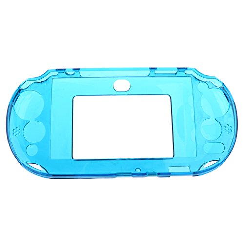 Jili Online Protective Snap-on Hard Case for Sony PSV2000 Gamepad Remote Controller Light Blue Psp Wii Controller