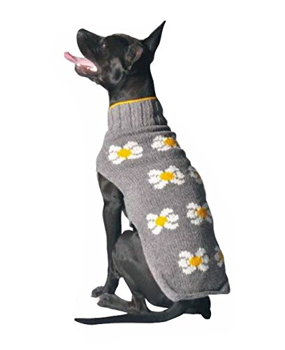 Chilly Dog Daisy Dog Sweater, X-Small by Chilly Dog