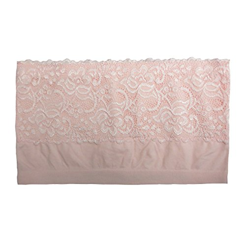 Coobie Lace Bandeau, Heavenly Pink