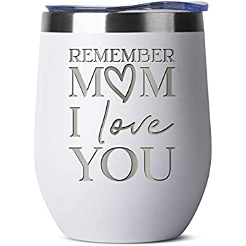 Amazon.com: Remember Mom I Love You | 12 oz White