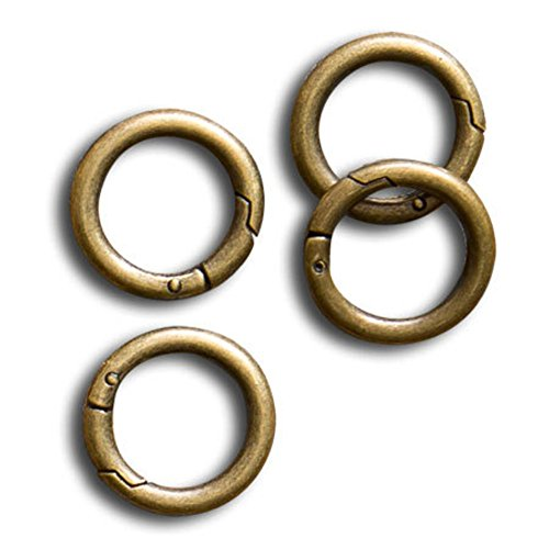 Miche Antique Brass Carabiners 1