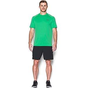Under Armour Ua Tech Ss Tee, Camiseta De Fitness Hombre, Verde (Vapor Green), M