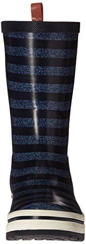 Helly Hansen Mujeres Midsund 2 Graphic Rain Bota Night Blue / Carbón / Evening Blue / Bright Bloom / Blanc De Blanc