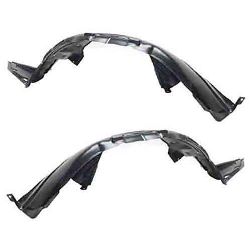 Koolzap For 09-14 Maxima Front Splash Shield Inner Fender Liner Left Right Side SET PAIR