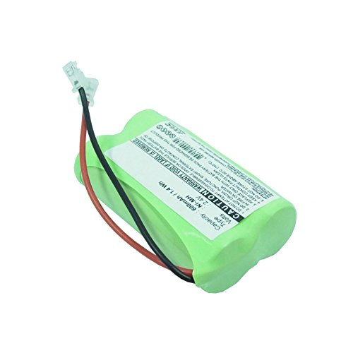 Cordless Phone Battery Replaces 2 AA with Universal Adapters FAST USA SHIP from Exell Battery