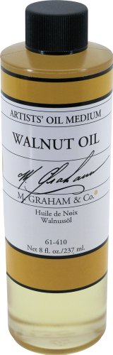 Real Walnut - M. Graham 8-Ounce Walnut Oil Medium