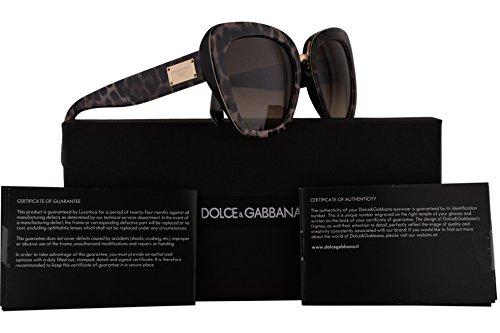 Dolce & Gabbana DG4296 Sunglasses Leoprint w/Brown Gradient Lens 53mm 199513 DG4296/S DG - Sunglasses 2016 Gomez Selena