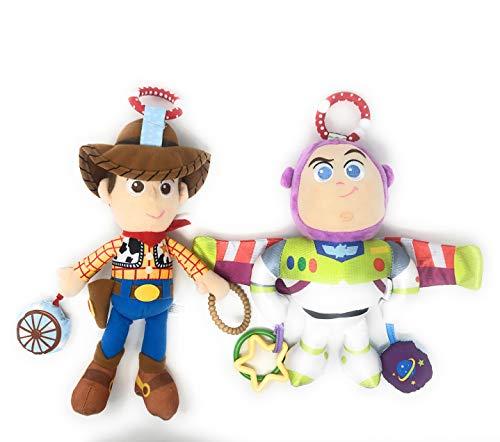 DIY Distributors Disney•Pixar Toy Story Buzz Lightyear On The Go Activity Toy Bundled with Woody On The Go Activity Toy