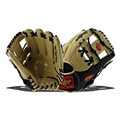 Inspired by your favorite Major Leaguers, the Rawlings Pro preferred 11.75-Inch infield Baseball glove is designed with professional gameday patterns and classic color combinations. Its durable full-grain kip leather breaks in over time to fo...