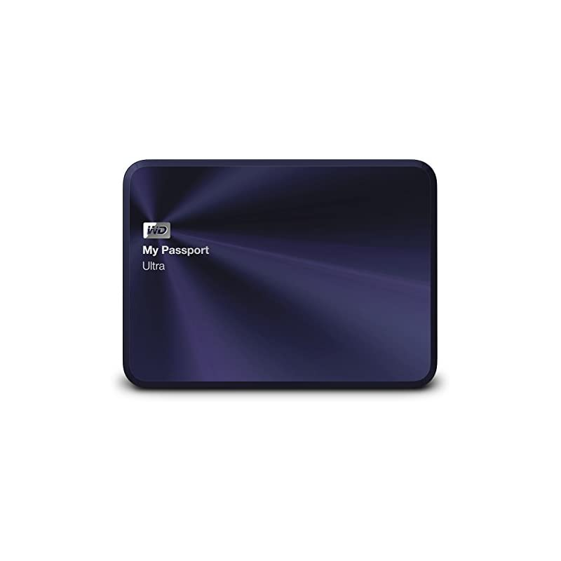 wd 2tb my passport ultra metal edition blue black