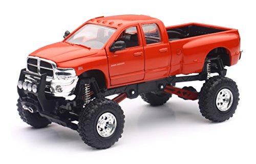 Diecast Dodge Ram (Dodge Ram Hemi 3500 4x4 Pickup Truck Raised w/ Working Suspension)