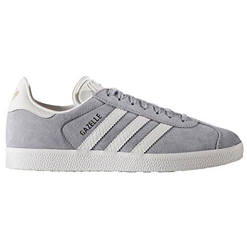 Adidas Gazelle .Nobuk Sneaker, Trainer, Tenis. Mid Grey/gold Met.