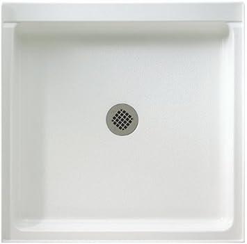 Swanstone R 4236 010 Veritek Center Drain Shower Base 42 X 36 X