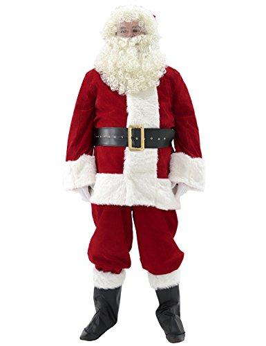 Ahititi Santa Suit Adult Costume 10pc.