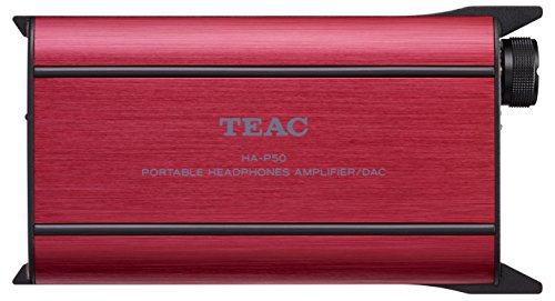 Teac HA P50 R Portable Headphone Amplifier