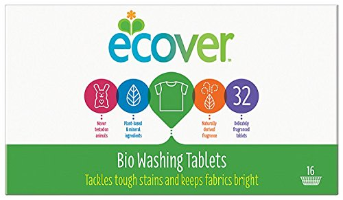 Ecover Laundry Tablets 32 Tablets (Pack of 5, Total 160 Tablets) by GroceryLand