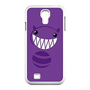 Samsung Galaxy S4 9500 Cell Phone Case White_Funny Monster Vhtrv