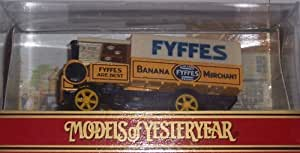 Matchbox Models of Yesteryear Y8-C 1917 Yorkshire Steam Wagon Fyffes Banana Merchant 1:61 Scale Diecast