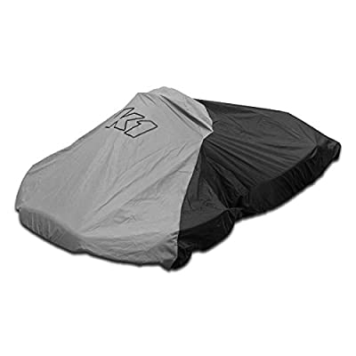 K1 Race Gear 18-NKC-N Black Nylon Waterproof Kart Cover: Automotive