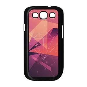 Samsung Galaxy S3 9300 Cell Phone Case Black Diamond Red Graphic Art R4E8AE